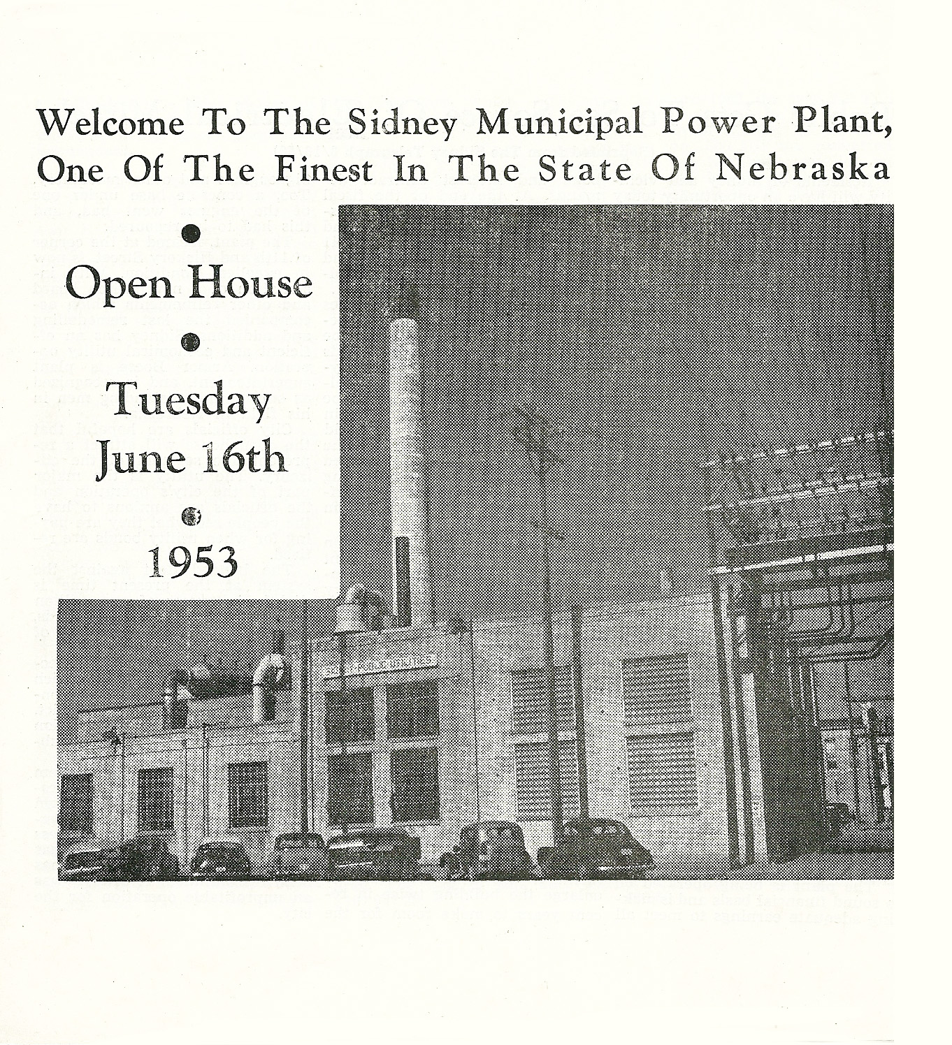Power Plant Brochure 1953